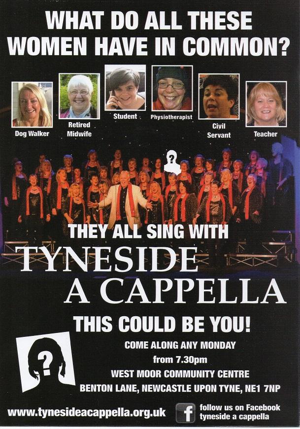 Tyneside Acapella - Home